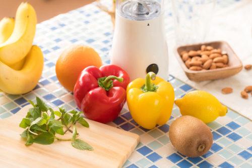 ビタミンたっぷり野菜とフルーツ